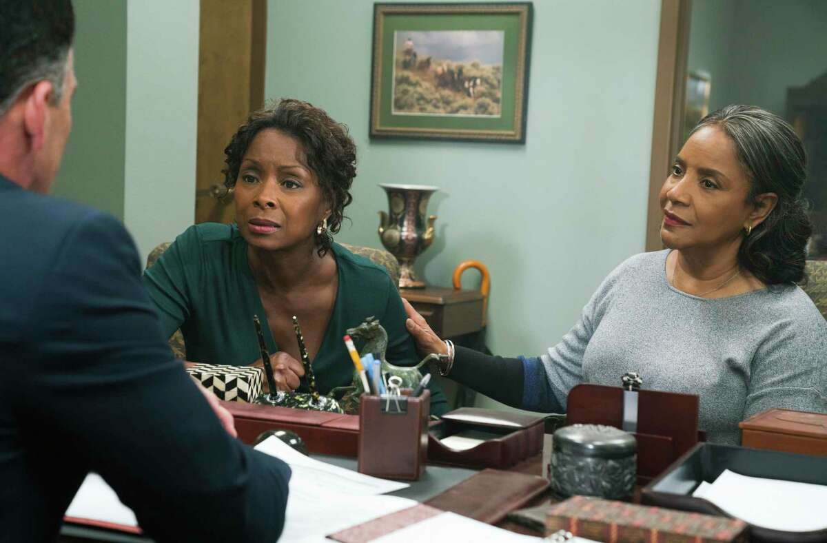 """Crystal Fox and Felicia Rashad star in """"A Fall From Grace,"""" Tyler Perry's first film for Netflix"""
