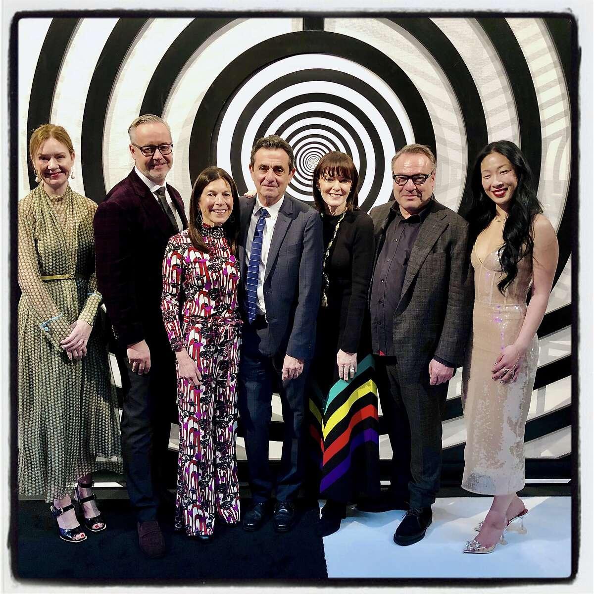 Team FOG (from left) Katie Paige, Douglas Durkin, Susan Swig, Neal Benezra, Allison Speer, Stanlee Gatti and Sonya Yu. Jan. 15, 2020
