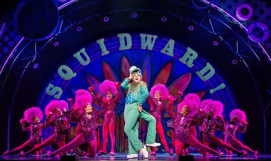 "Cody Cooley olays Squidward Q. Tentacles in ""The SpongeBob Musical,"" which is coming to the Majestic Theatre. Photo: Jeremy Daniel"