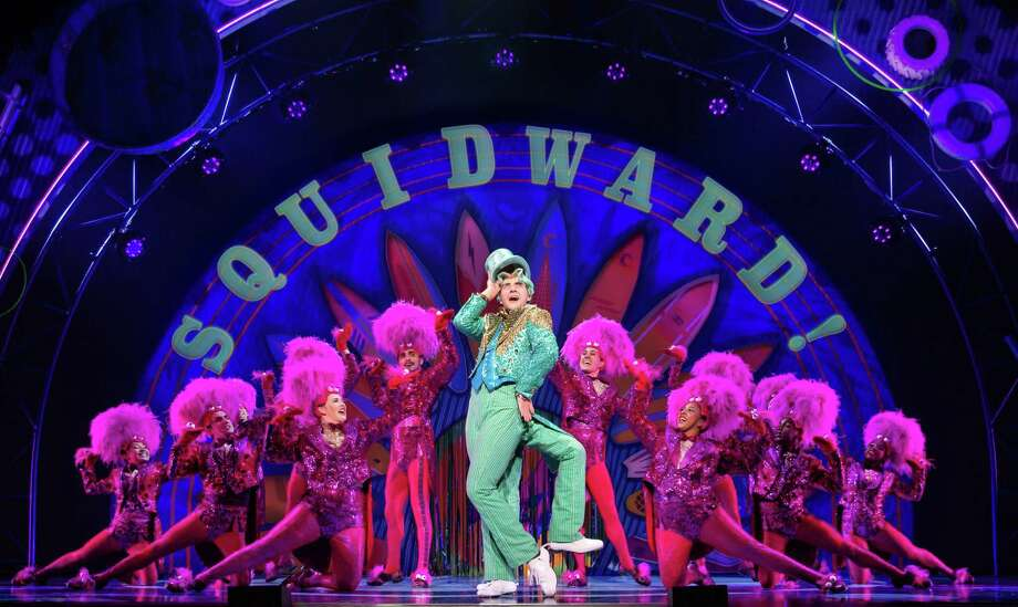 """""""The SpongeBob Musical"""": Hit Broadway show follows the residents of Bikini Bottom as their lives are rattled by a series of eruptions from the Mt. Humongous volcano. The show features a score including songs by Cyndi Lauper, John Legend, They Might Be Giants and David Bowie. 8 p.m. Friday, 2 and 8 p .m. Saturday, 2 p.m. Sunday, Majestic Theatre, 224 E. Houston St. $45 to $85 at the box office and ticketmaster.com. — Deborah Martin Photo: Jeremy Daniel / / Photo: Jeremy Daniel (Instagram @JeremyDanielPhoto)"""
