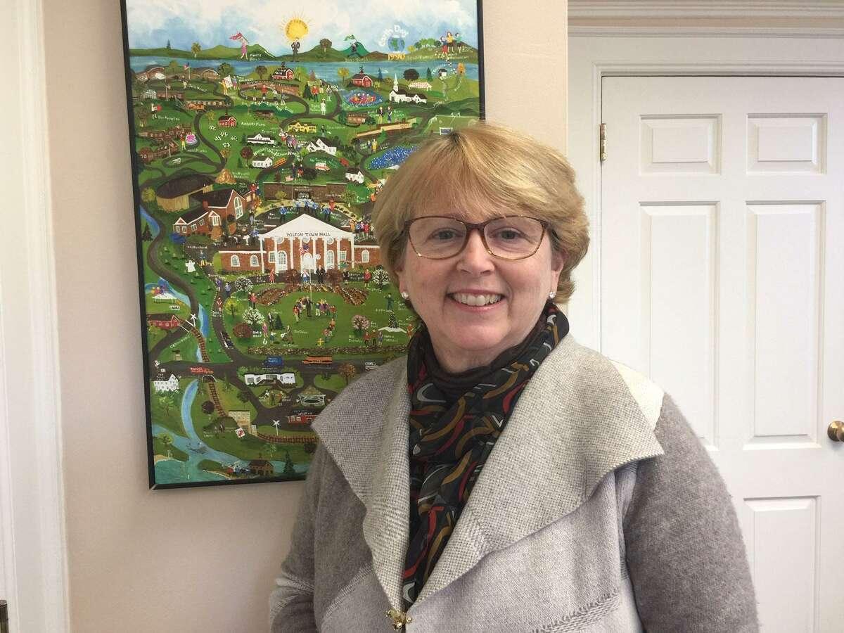 Wilton First Selectwoman Lynne Vanderslice