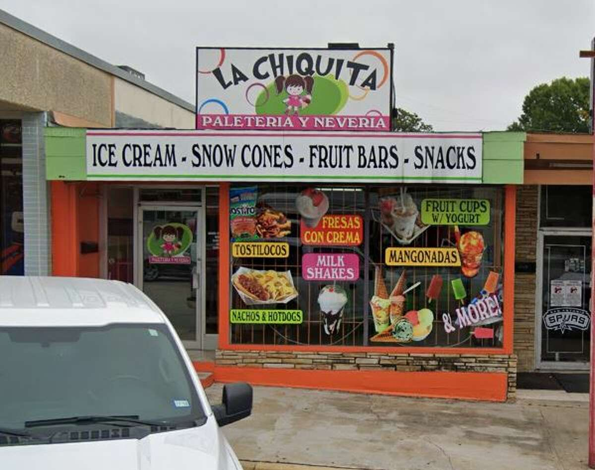 La Chiquita Paleteria y Neveria At this family-run business, you can look forward to delicious authentic Mexican homemade ice cream and fruit bars. 6726 San Pedro Avenue, (210) 845-1890.