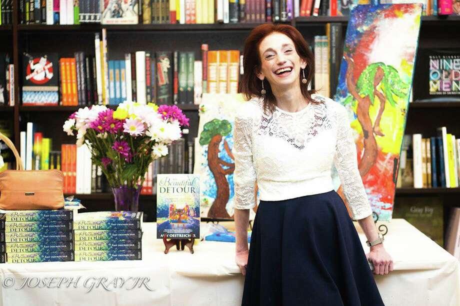 Author Amy Oestreicher will speak in Ridgefield. Photo: /