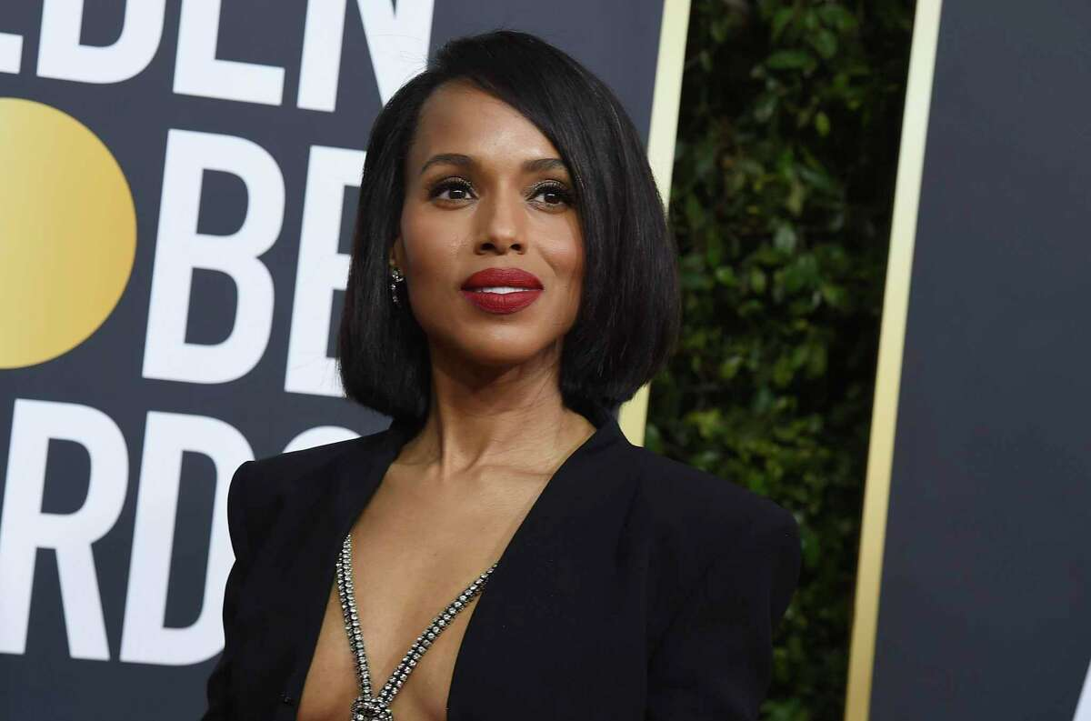 Dresses like Kerry Washington's Golden Globes gown require fashion tape.