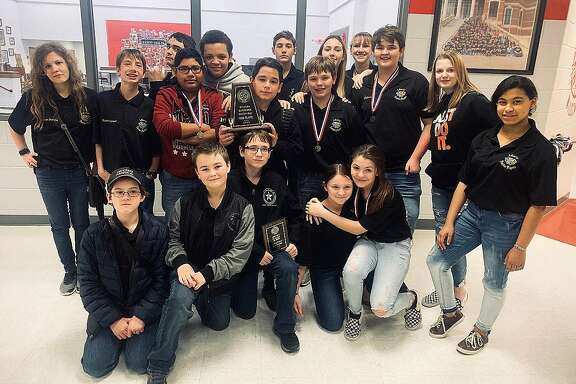 The LMS Panther Players finished second place, runner-up, in the District 21-4A Middle Schoool One Act Play competition. The Players also garnered numerous individual awards.
