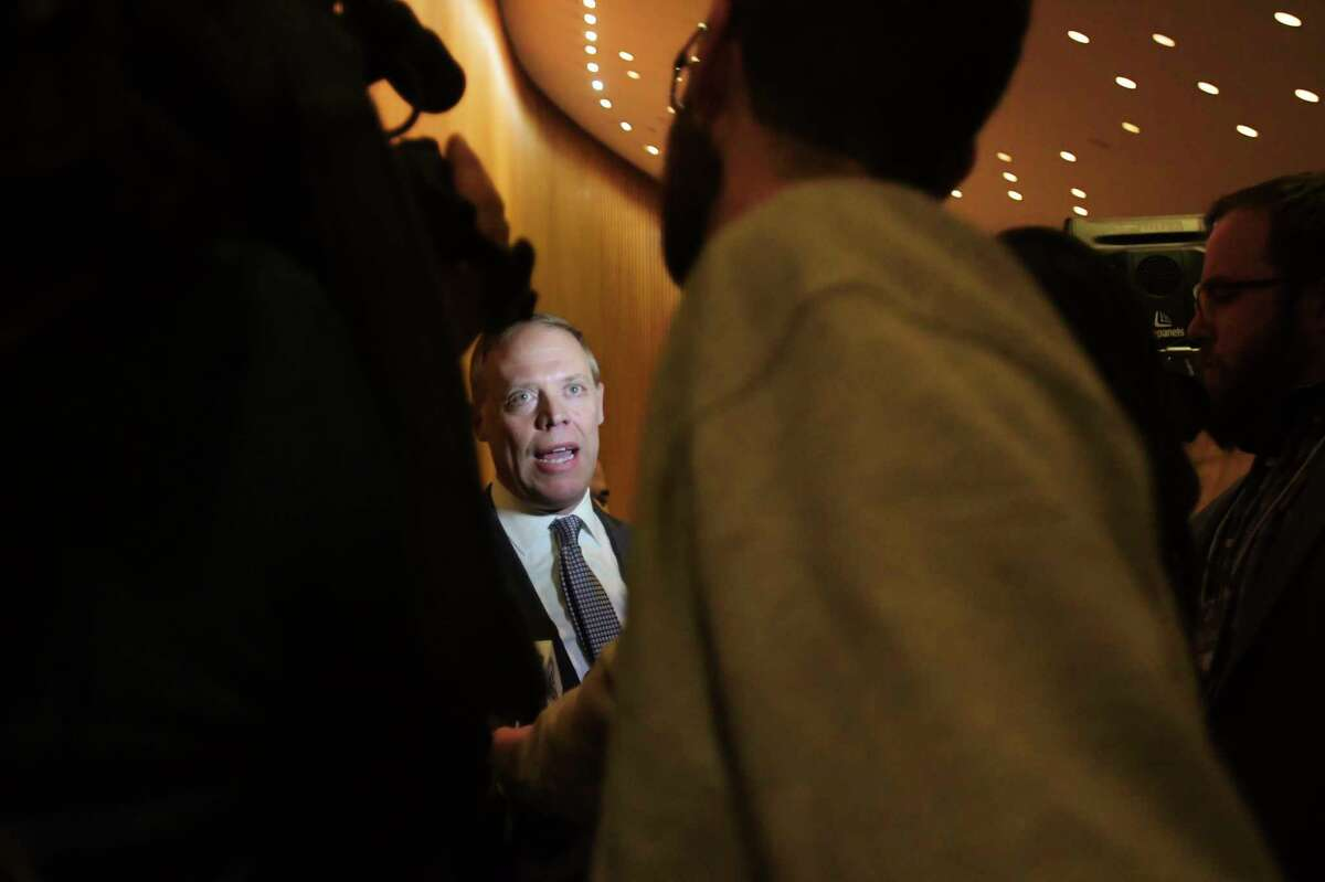 Assembly Minority Leader William Barclay continues to push for the Legislature to issue subpoenas to the state Department of Health for its handling of coronavirus in nursing homes. (Paul Buckowski/Times Union)