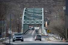 Veterans Bridge in New Milford is structurally deficient and the DOT will be rehabbing it over the course of the year. Tuesday, January 20, 2020, in New Milford, Conn. Looking towards Route 7.