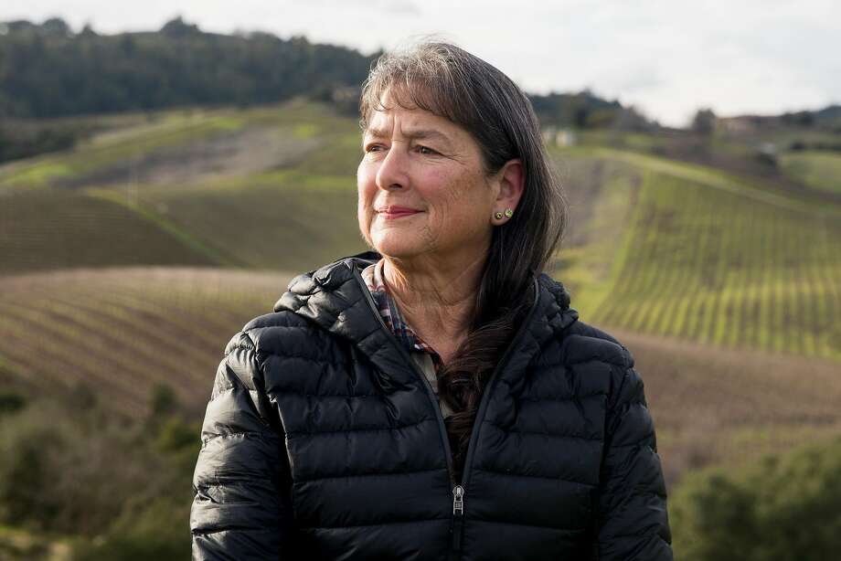 Chris Malan, a mental health counselor and environmental activist, has been speaking out against the removal of vernal pools in Napa Valley for decades. Photo: Jessica Christian / The Chronicle