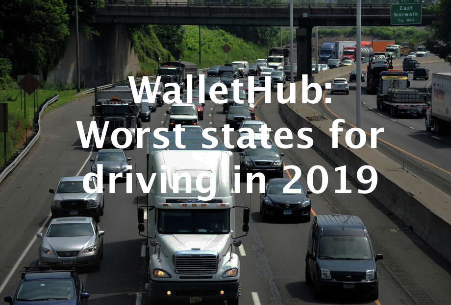 Financial site WalletHub analyzed driving conditions in each of the 50 states to find out which states have the best and worst commutes. Click through to see the top 10 worst states for drivers in 2019. Visit WalltHub for the full report. Photo: Cathy Zuraw / Connecticut Post