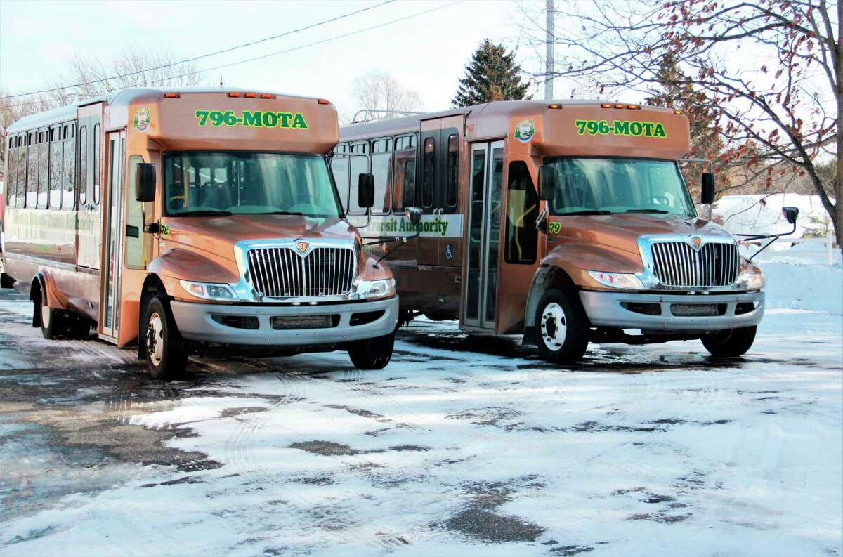 According to Mecosta Osceola Transit Authority (MOTA)executive director Michael Tillman, MOTA has been expanding since its .5 millage increase passed in November. Along with implementing new fares, the business recently extended its hours Monday and plan to continue to expand its hours as the months progress. (Herald Review photo/Alicia Jaimes)