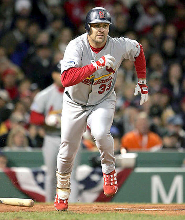 Larry Walker, who helped get the Cardinals to the 2004 World Series, was elected Tuesday to the Baseball Hall of Fame. Photo: AP File
