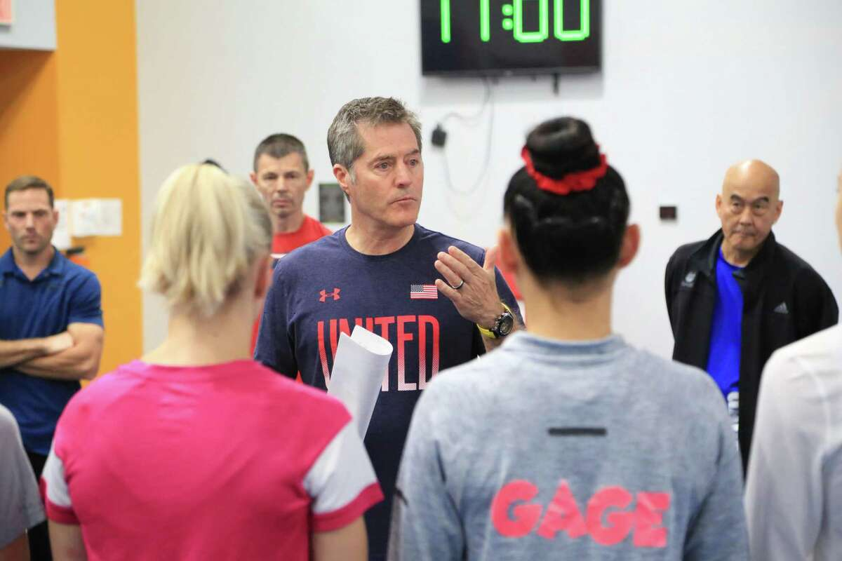 Embarking on his third year as the high-performance director for the USA Gymnastics women's program, Tom Forster shares the same goal as his predecessors for the Tokyo Games - win gold.