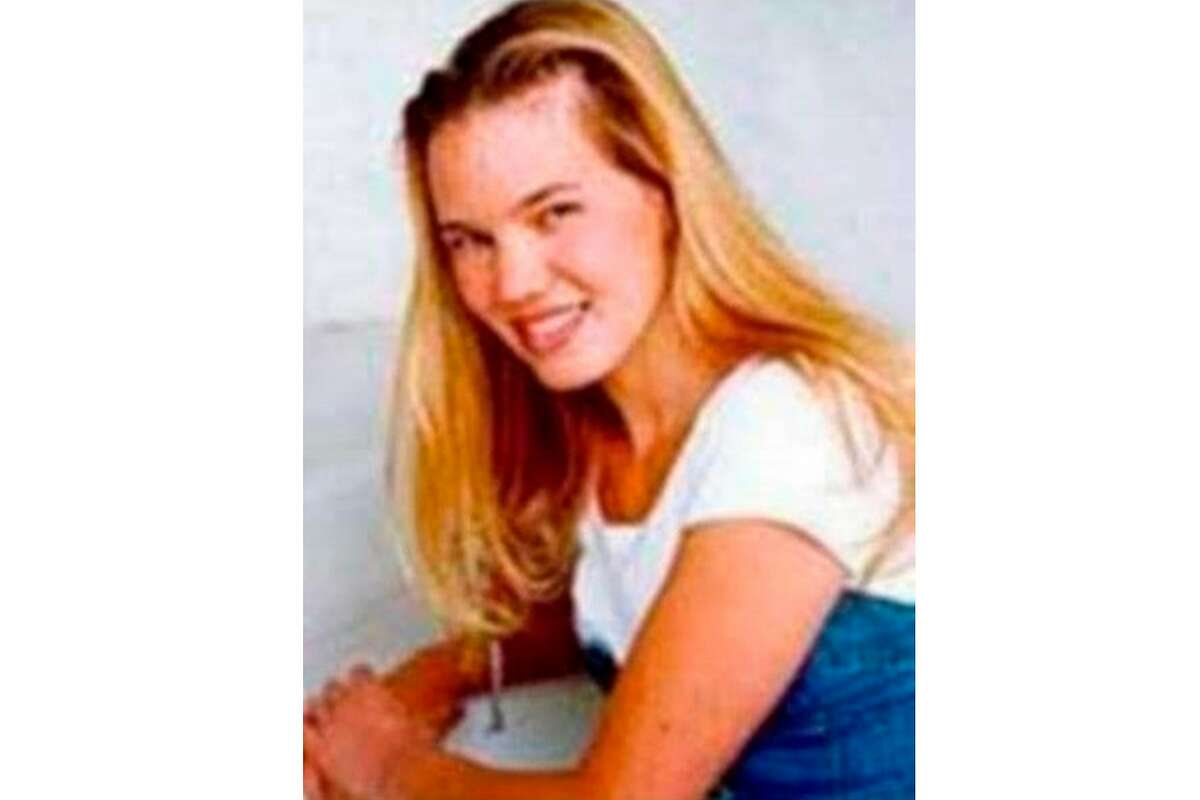 This undated photo released by the FBI shows Kristin Smart, the California Polytechnic State University, San Luis Obispo student who disappeared in 1996. Smart was last seen in May 1996, while returning to her dorm after an off-campus party.
