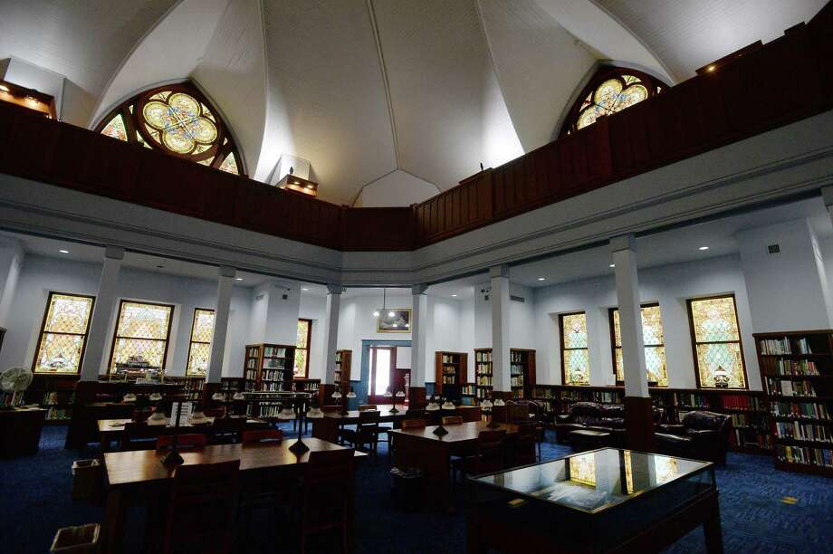 Tyrrell Historical Library will have a grand re-opening Wednesday, Jan. 22 4 - 6 p.m. to officially open to the public after being closed for repairs since Tropical Storm Harvey in 2017. Photo taken Wednesday, Jan. 15, 2020 Kim Brent/The Enterprise Photo: Kim Brent / The Enterprise / BEN