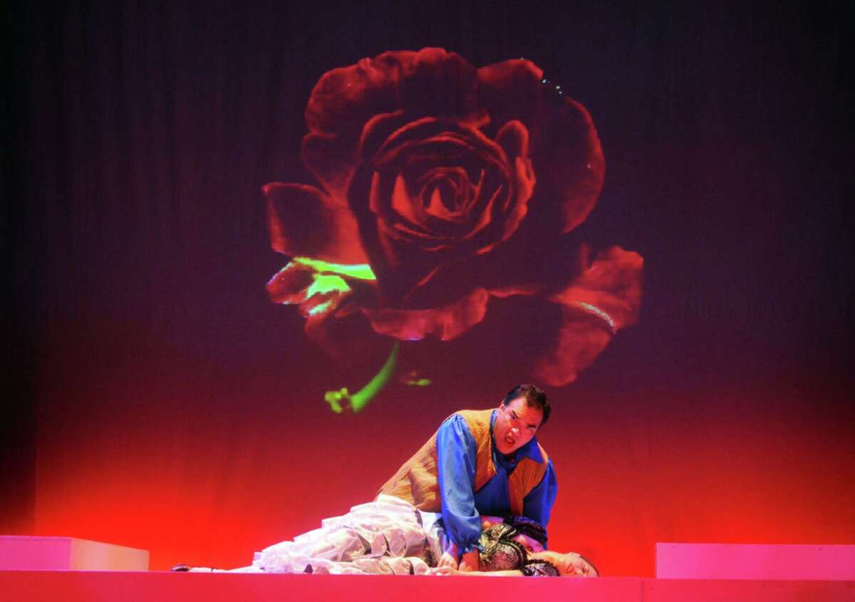 Opera Theater of Connecticut is performing Jan. 25 in Branford. Above, Daniel Juárez as Don Jose, and Kelly Hill as Carmen, in