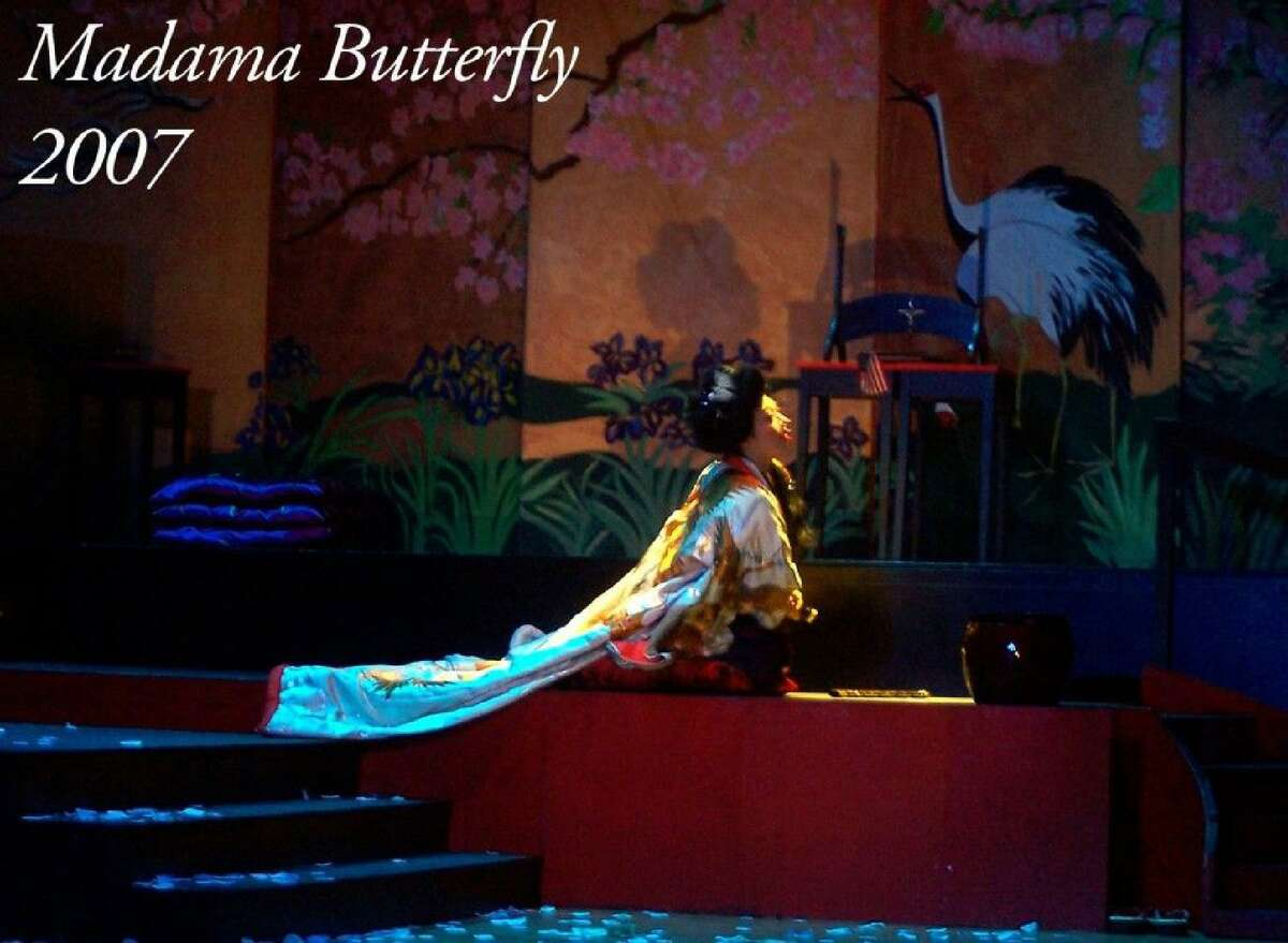 Opera Theater of Connecticut is performing Jan. 25 in Branford. Junko Watanabe as CioCio San, in the 2007 performances of