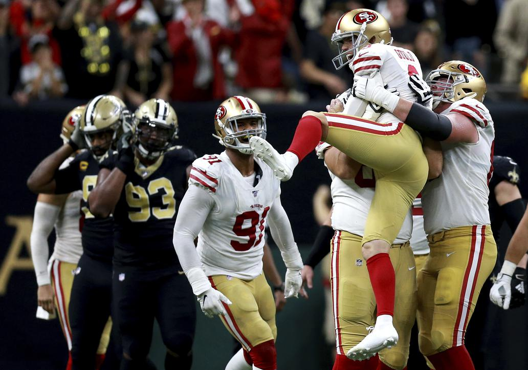 The versatile 49ers can win 'any kind of way'