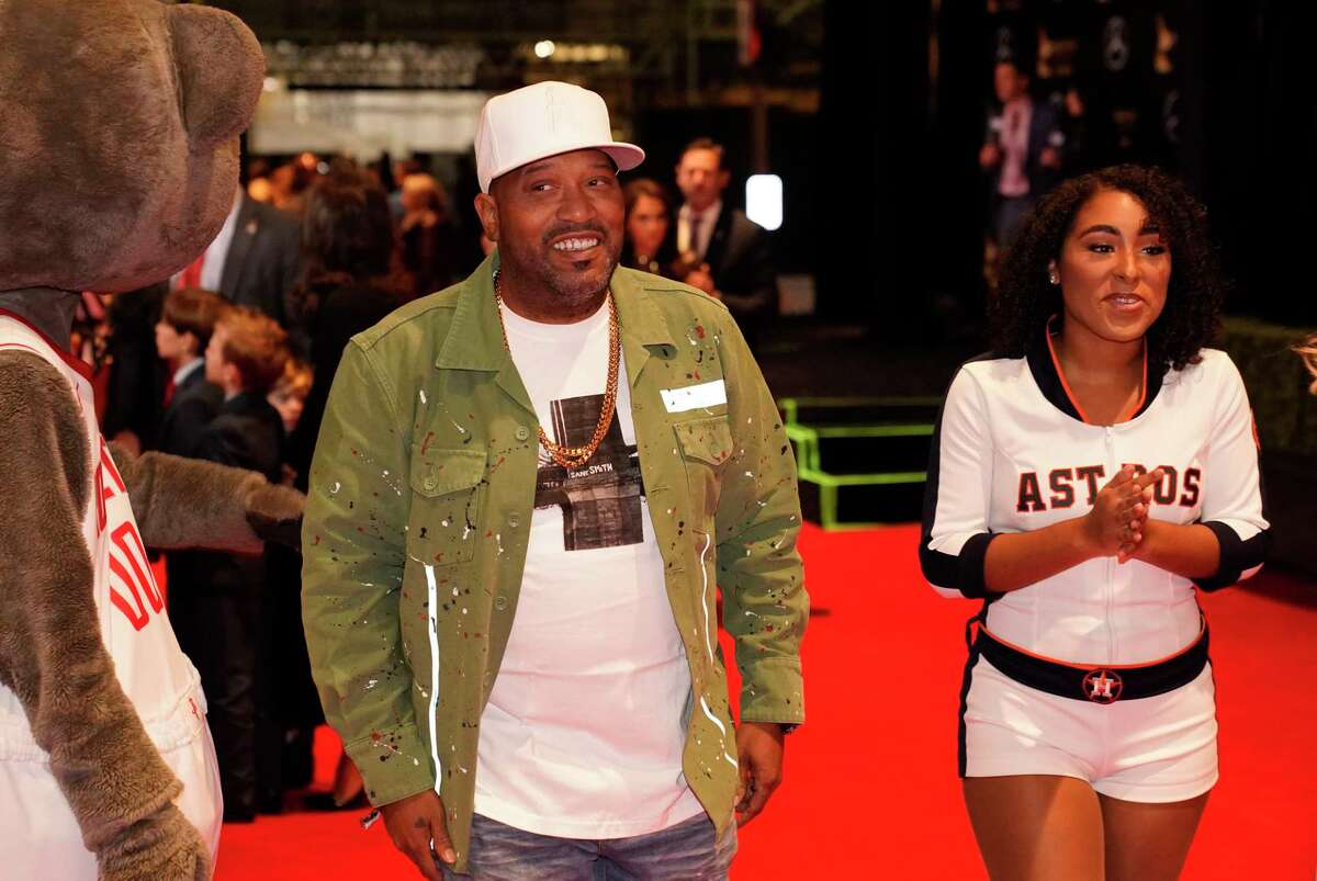 Rapper Bun B walks the red carpet at the 3rd Annual Houston Sports Awards Tuesday, Jan. 21, 2020, Hilton Americas, 1600 Lamar St., in Houston.