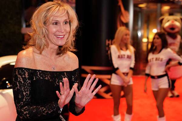 Tina Langley, Rice University head women's basketball coach, walks the red carpet at the 3rd Annual Houston Sports Awards Tuesday, Jan. 21, 2020, Hilton Americas, 1600 Lamar St., in Houston.
