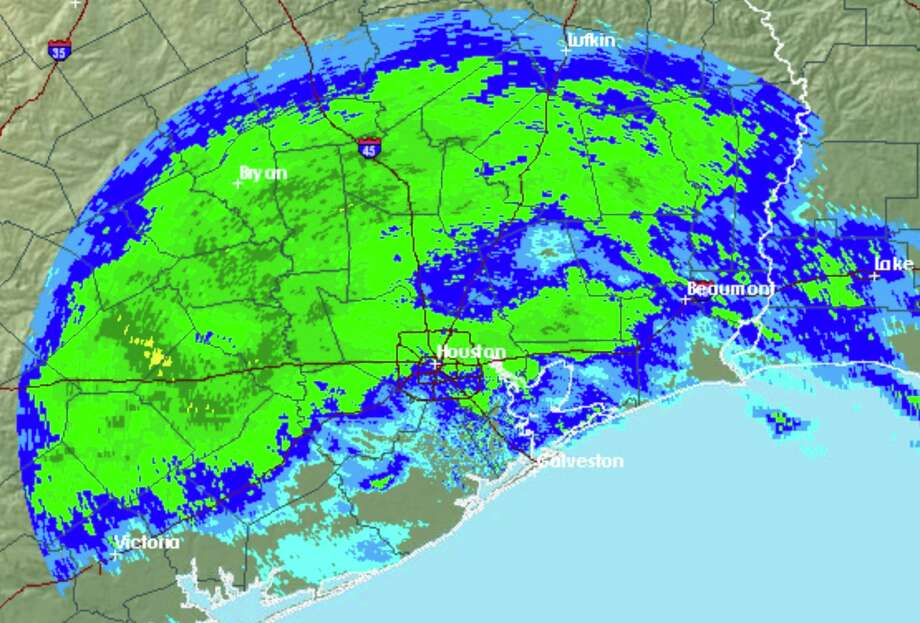 Rain is expected to fall over Houston for most of Wednesday, Jan. 22, 2020. Photo: National Weather Service