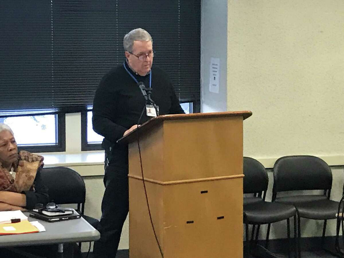 Tom Smith, the program manager for New Haven's school construction program, on Jan. 21, 2020.