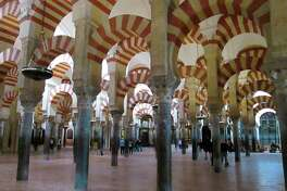 A forest of columns -- the Mezquita in Cordoba. (Courtesy photo/Roxanne Rowley)