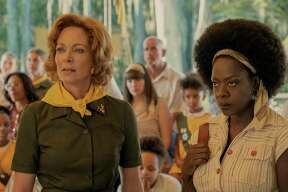 Allison Janney and Viola Davis in 'Troop Zero'