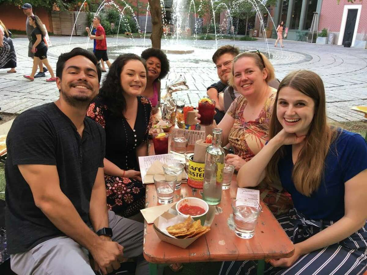 Humberto J. Rocha, Hannah Dellinger, Tatiana Flowers, Peter Yankowski, Viktoria Sundqvist and Meghan Friedmann are six of the seven team members that will be honored in Boston on Feb. 7 for the project (missing from photo is Lisa Yanick Litwiller).