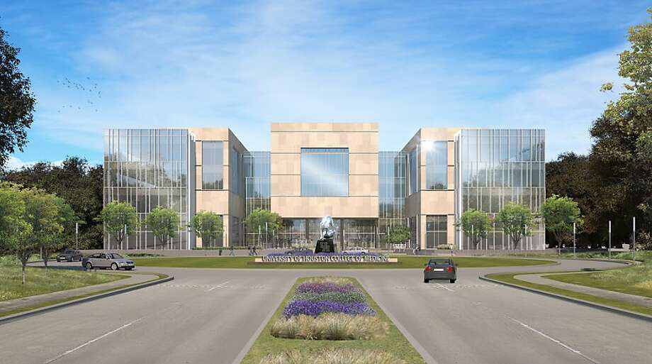 Artist's rendering of the front of the UH College of Medicine. Photo: Handout, UH College Of Medicine