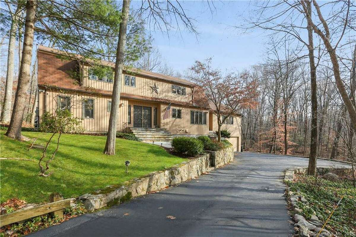 The home at 250 Wilton Road East in Ridgefield will have an open house on Sunday, Jan. 26, from noon to 2.