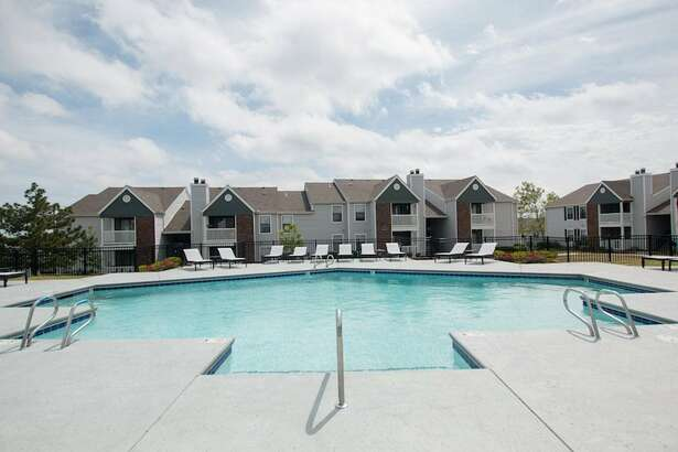 The Wisconsin-based commercial real estate investor MLG Capital acquired 10 apartment complexes in Texas and Oklahoma. The developments were built in the 1970s and '80s and charge relatively affordable rents due to their age. Pictured is one of the acquired complexes in Tulsa, Oklahoma.