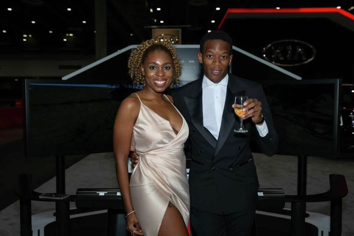 """Preview night at the Houston Auto Show """"Roaring Twenties"""" Charity Preview Gala at NRG Center."""