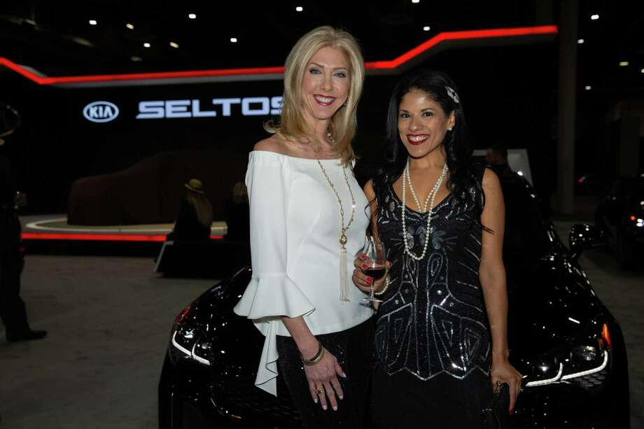 """Preview night at the Houston Auto Show """"Roaring Twenties"""" Charity Preview Gala at NRG Center. Photo: Pu Ying Huang"""