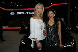 "Preview night at the Houston Auto Show ""Roaring Twenties"" Charity Preview Gala at NRG Center."