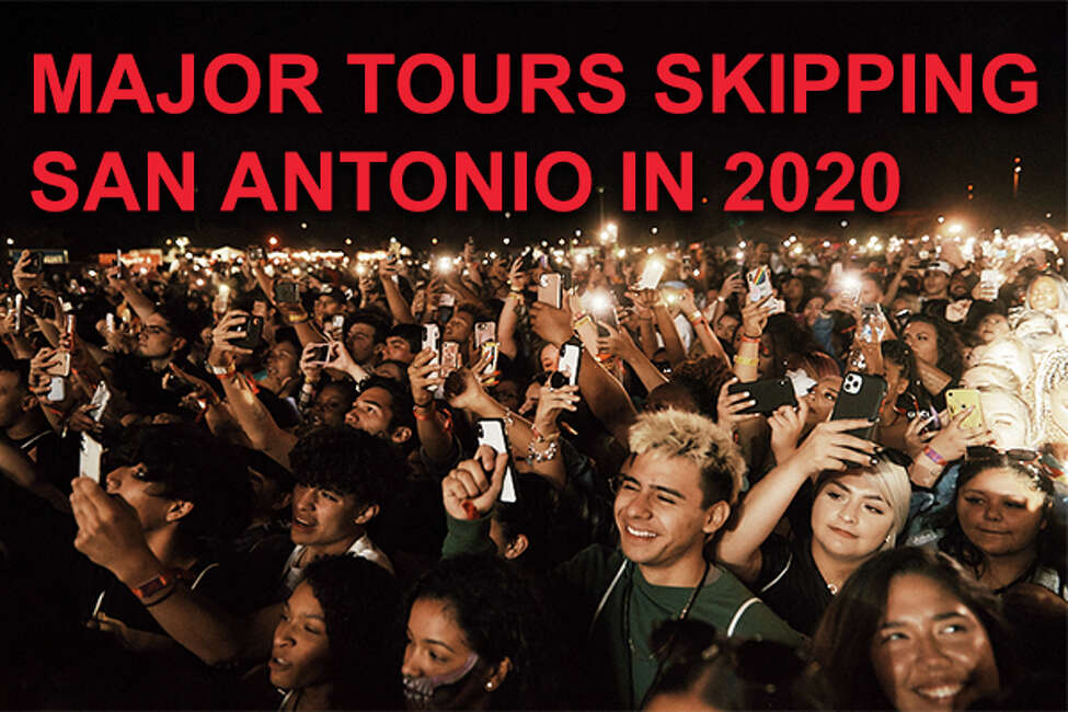 Click through to see major artists who are skipping the Alamo City on their 2020 tours.