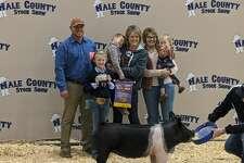 Bryleigh Beyers, Abernathy 4-H - Grand Champion Swine