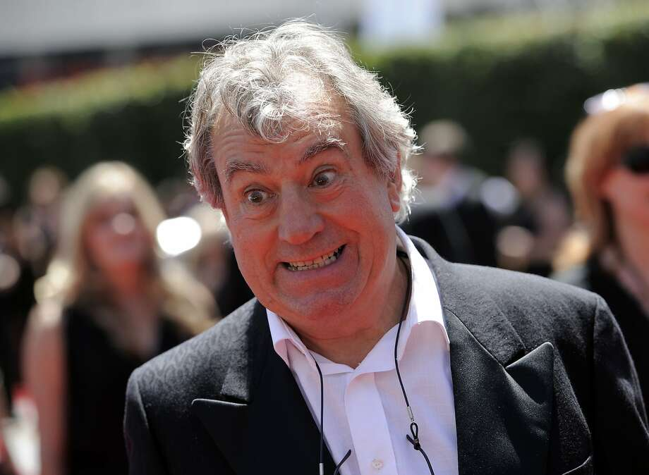Terry Jones, along with Michael Palin, Eric Idle, John Cleese, Graham Chapman and Terry Gilliam, formed Monty Python. Photo: Chris Pizzello / Associated Press 2010