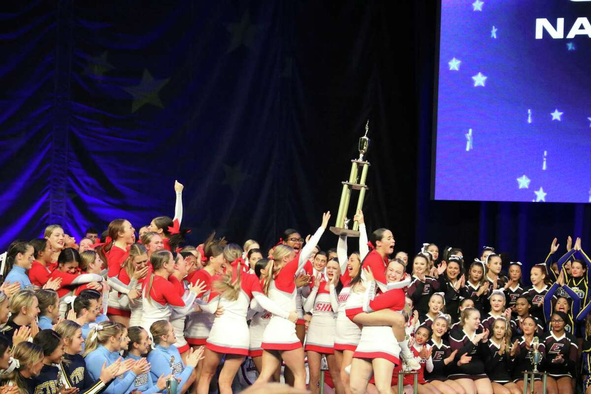 The Sacred Heart cheerleading team won the UCA National Championship for the first time