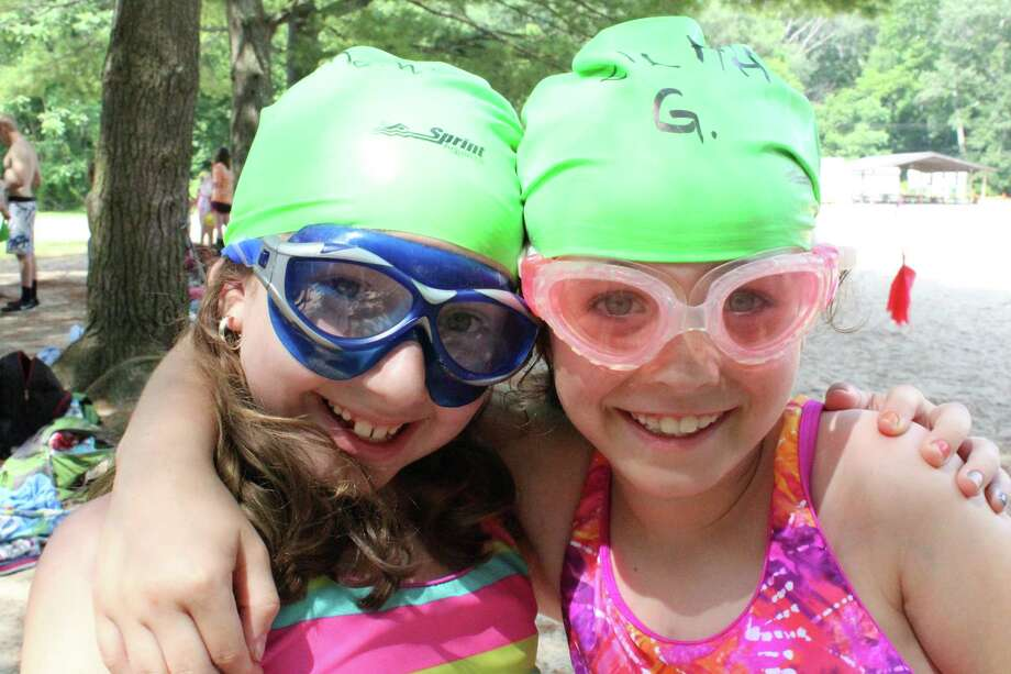 Pictured are two participants of the New Canaan YMCA's Camp Y-Ki one summer. Photo: Contributed Photo / New Canaan News
