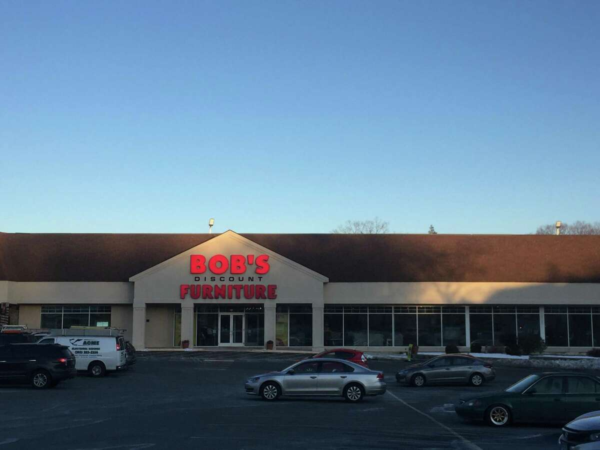 Bob's Discount Furniture is closing this store at 479 Hope St., in Stamford, Conn., to make way for its new store in Norwalk, Conn.