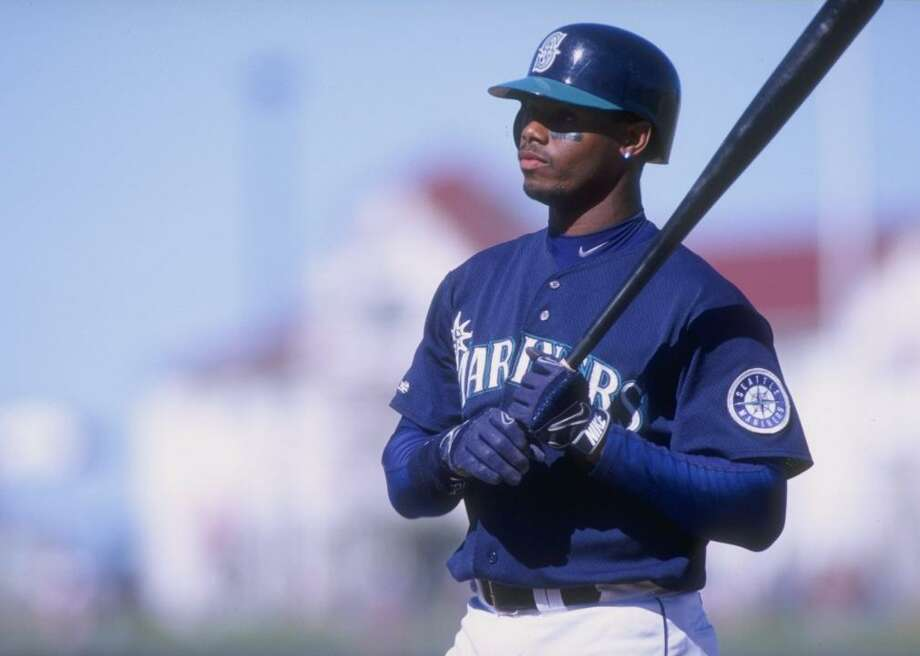 Seattle Mariners legend Ken Griffey Jr. is the subject of an MLB Network documentary debuting on Father's Day. Photo: Jed Jacobsohn // Getty Images