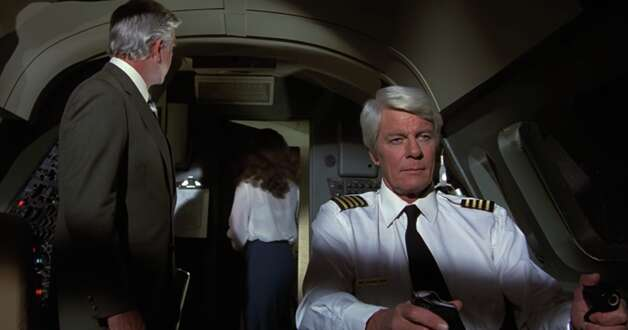 leslie airplane movie cast