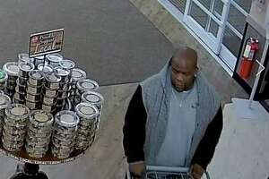 Police in Derby ask anyone with information about this male suspect's identity to call police.