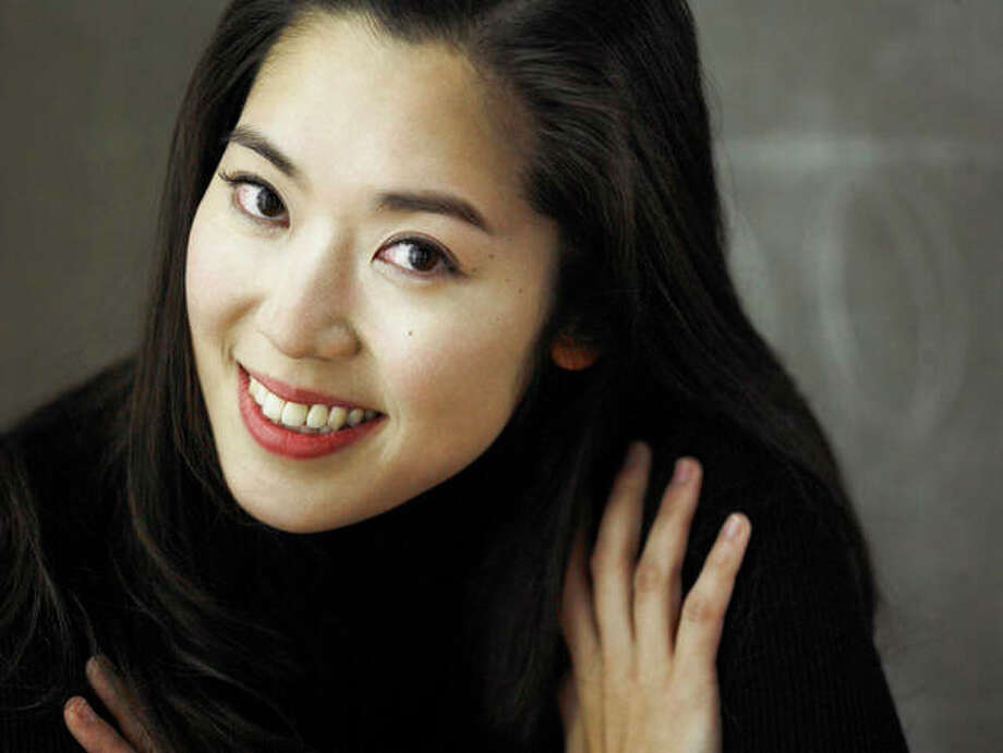 Southern Illinois University Edwardsville assistant professor and pianist Angela Kim, who organized Chaos Magick, an experimental concert Thursday, Jan. 30, at SIUE's Dunham Hall Theater.