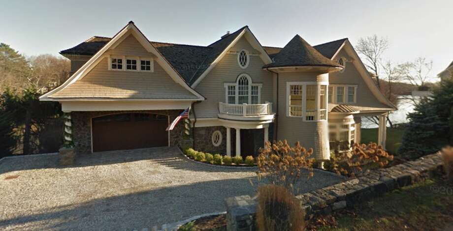 Darren Davis, president of iHeartMedia, has listed his $2.95 million Cos Cob mansion for sale. Photo: Google Maps
