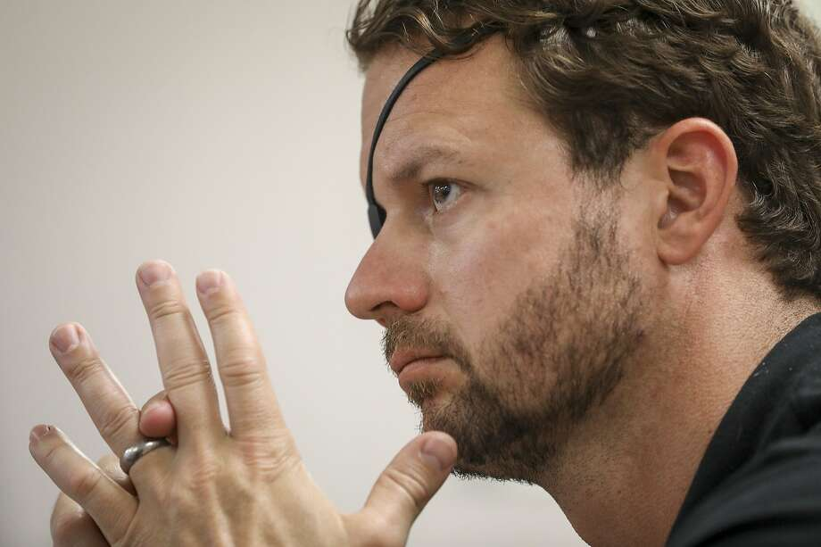 U.S. Rep. Dan Crenshaw, a Republican representing parts of Houston and Harris County in Southeast Texas, is among GOP House members pushing climate change measures more friendly to fossil fuels. Photo: Jon Shapley, Staff Photographer