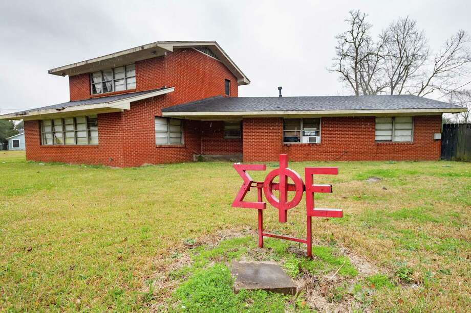 Lamar University is investigating allegations of hazing involving the Sigma Phi Epsilon fraternity. The local chapter has been placed on interim suspension. Photo made on Wednesday, January 22, 2020. Fran Ruchalski/The Enterprise Photo: Fran Ruchalski/The Enterprise / Fran Ruchalski/The Enterprise/ / 2019 The Beaumont Enterprise