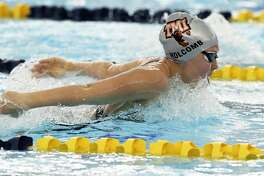 TMI's Meredith Holcomb competes in the 200-yard individual medley during the TAPPS Central regional meet at Walker Pool on Jan.22, 2020.