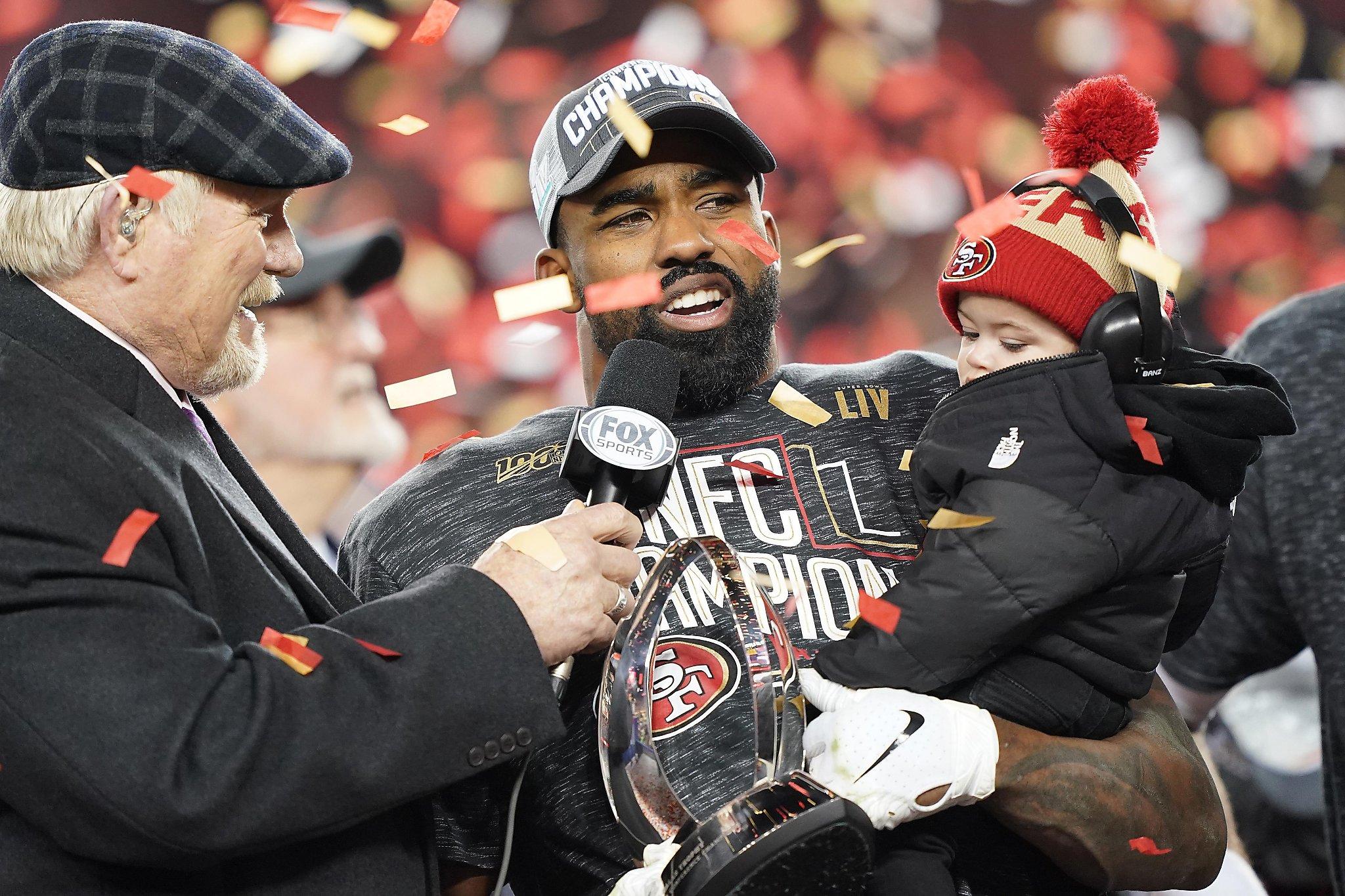 49ers' Raheem Mostert navigates big offers, media storm after overnight fame