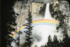 These lantern slides of Yosemite National Park were donated to the park's photo archives and show slices of life from 1903.